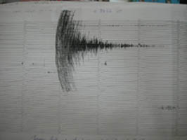 Earthquake graph.